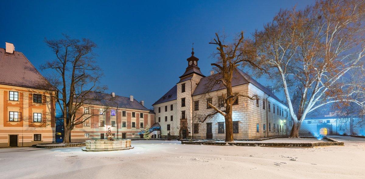 Historie zámku Třeboň