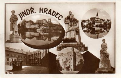 Pomník padlým důstojníkům a vojínům bývalého 75 (Jindřichohradecké sochy a památníky #12)