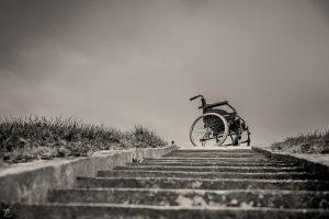 Wheelchair kolečkové křeslo postižení