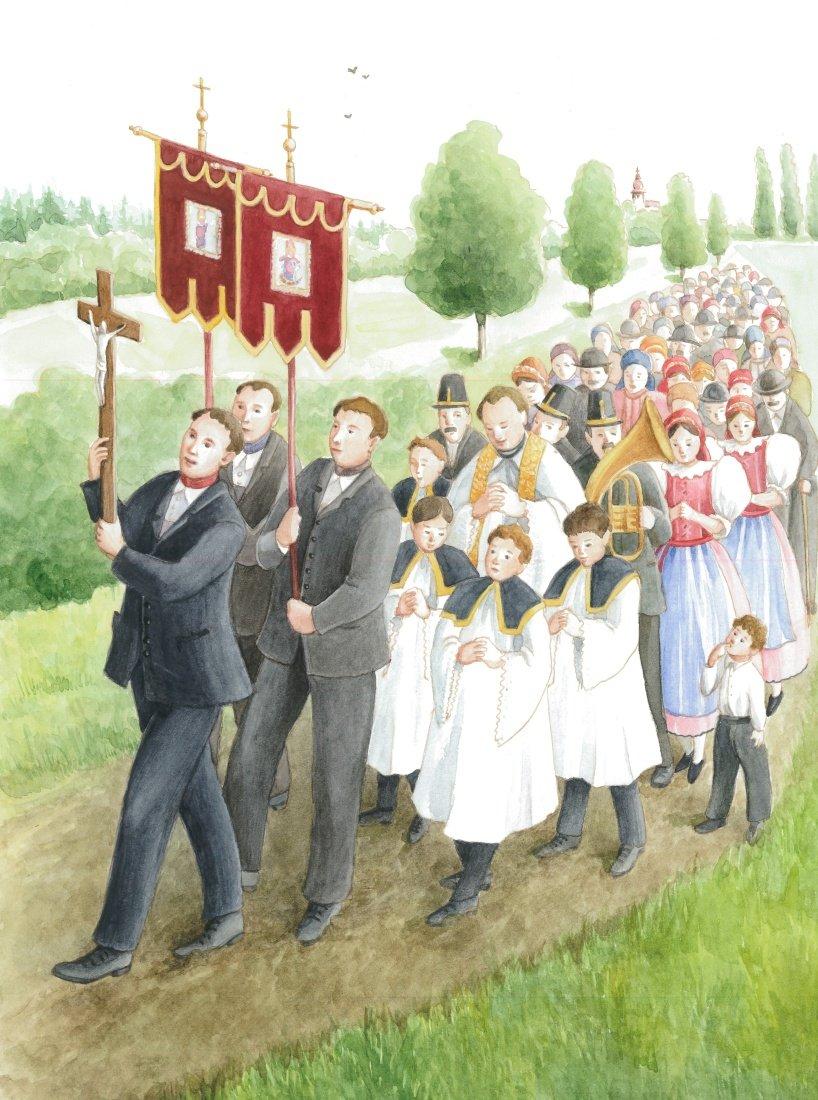 Společná česko-rakouská výstava ukáže lidové zvyky na obou stranách hranice