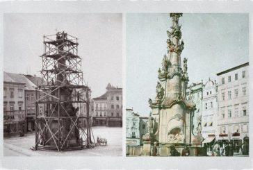 Jindřichohradecký kolos - Sousoší Nejsvětější Trojice / Nanebevzetí Panny Marie (800 let Jindřichova Hradce #7)