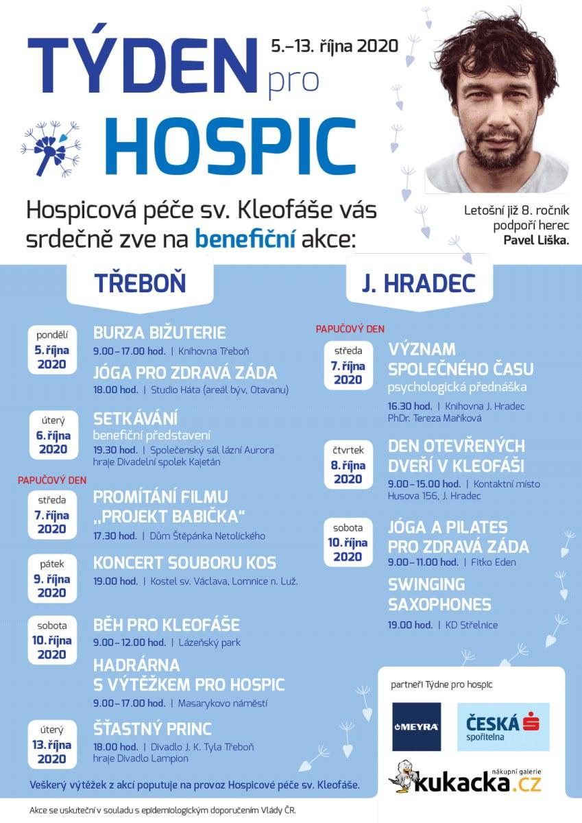 Týden pro hospic proběhne v říjnu poosmé