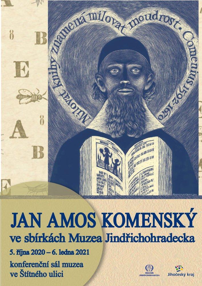 Výstava Jan Amos Komenský ve sbírkách Muzea Jindřichohradecka a edukační program pro školy