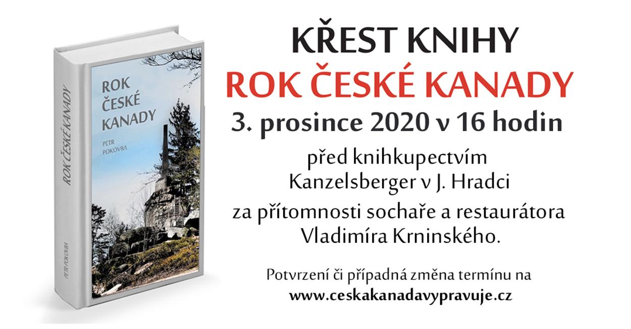 Křest knihy Rok České Kanady