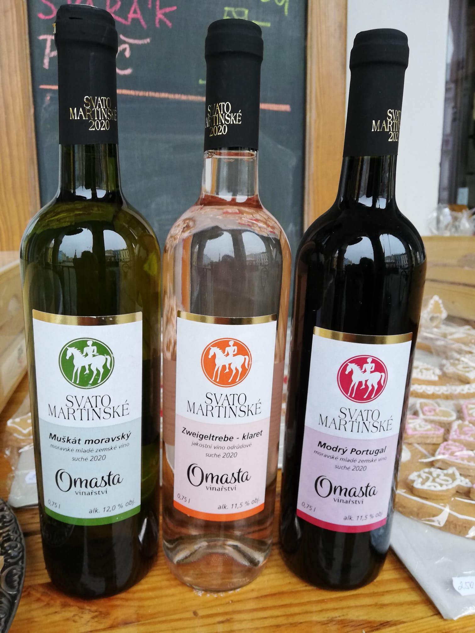 Svatomartinská vína a poslední burčák u Střapaté Bohunky