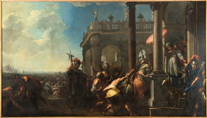 Josef Egyptský se dává poznat svým bratřím (Významné exponáty jindřichohradeckého zámku)