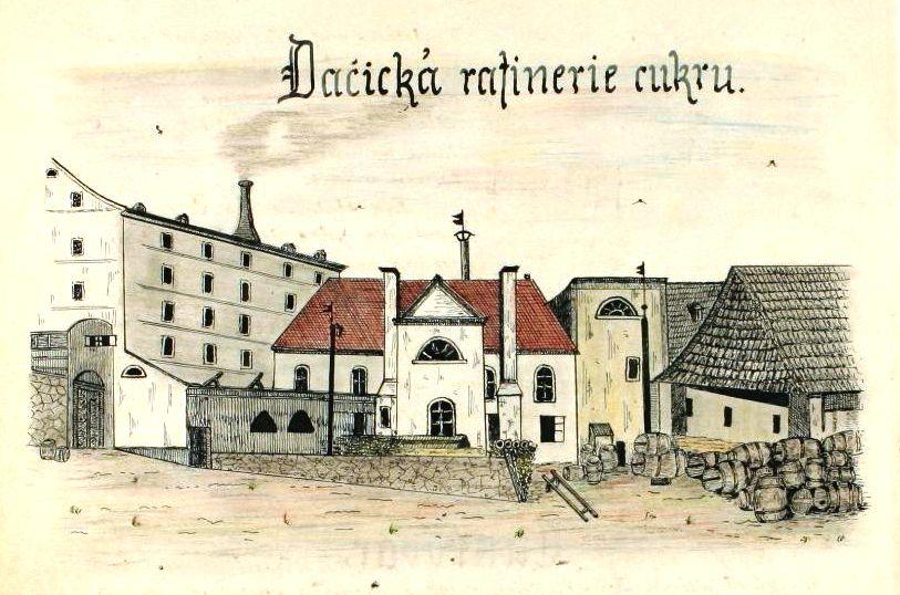 Dačice – město, které dalo světu kostkový cukr I.