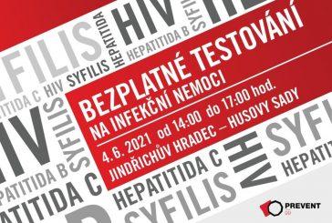 Nechte se otestovat zdarma a anonymně na HIV, žloutenku nebo syfilis