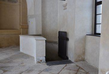 Sklepení hudebního pavilonu Rondelu na jindřichohradeckém zámku