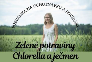 Zelené potraviny - Chlorella a ječmen