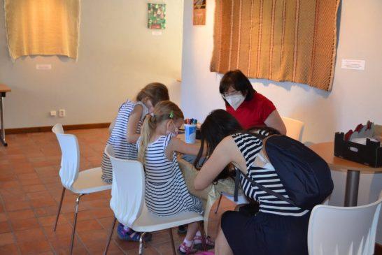 Tvoření pro děti i dospělé v Domě gobelínů