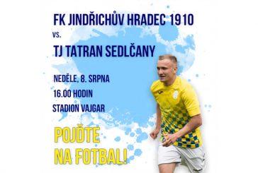 Fotbal je zpět: domácí FK J. Hradec 1910 vyzve v neděli Sedlčany