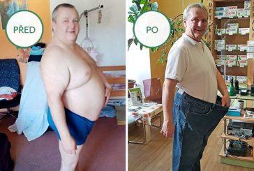 Proměny Naturhouse: Jiří zhubl 50,4 kg