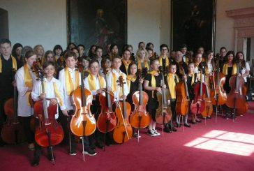 Koncert Jihočeského violoncellového orchestru