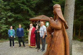 Pouť k prameni svaté Ludmily v Počátkách u příležitosti 1100 let od jejího úmrtí