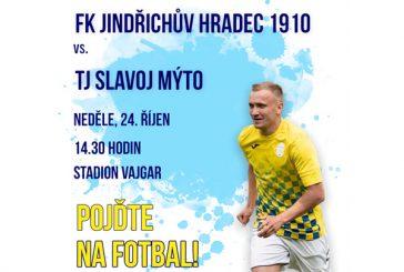 POJĎTE NA FOTBAL: FK Jindřichův Hradec 1910 vs TJ Slavoj Mýto