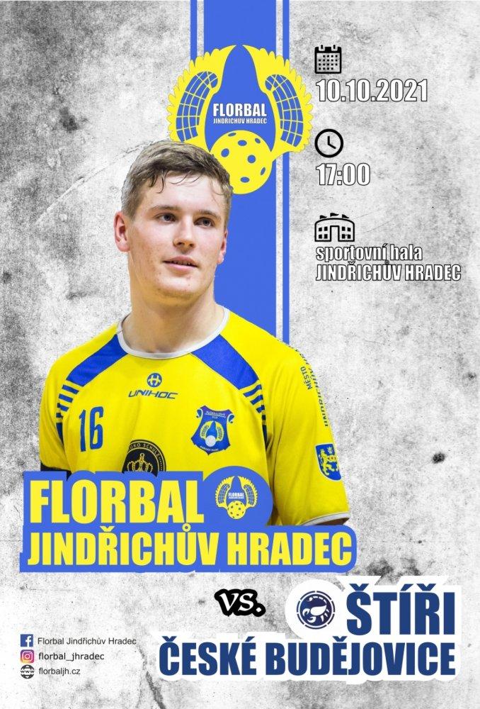 Florbal Jindřichův Hradec vs